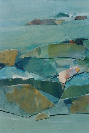 Helen Grey-Smith, Rock Pool, 1995 (detail). Photograph by Steven Gersbach. Courtesy Grey-Smith Estate.
