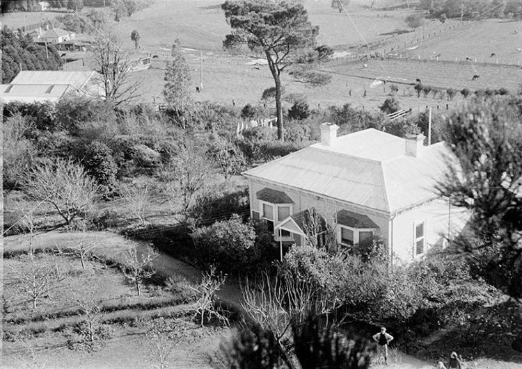 Heide viewed from the trees c.1949, Estate of John Sinclair, reproduced courtesy of Jean Langley photograph: John Sinclair