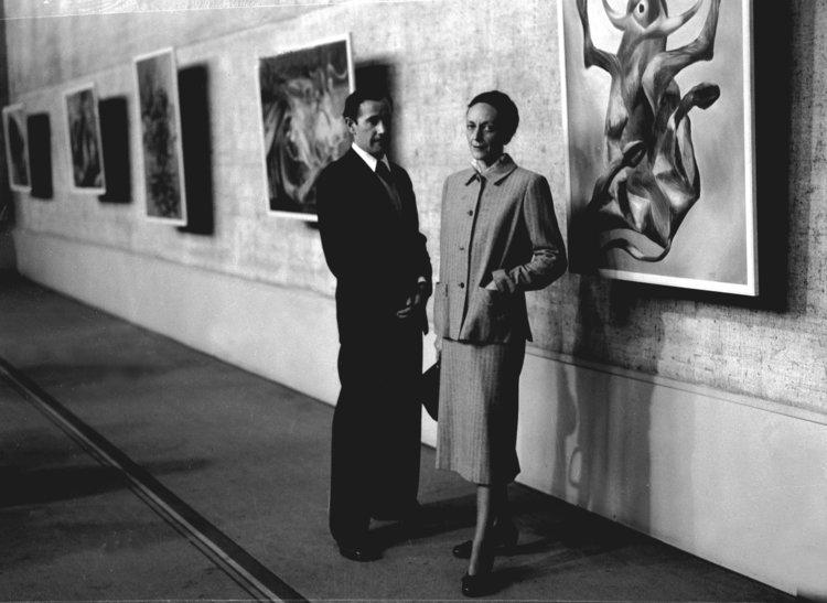 Sidney Nolan and his wife Cynthia 1953