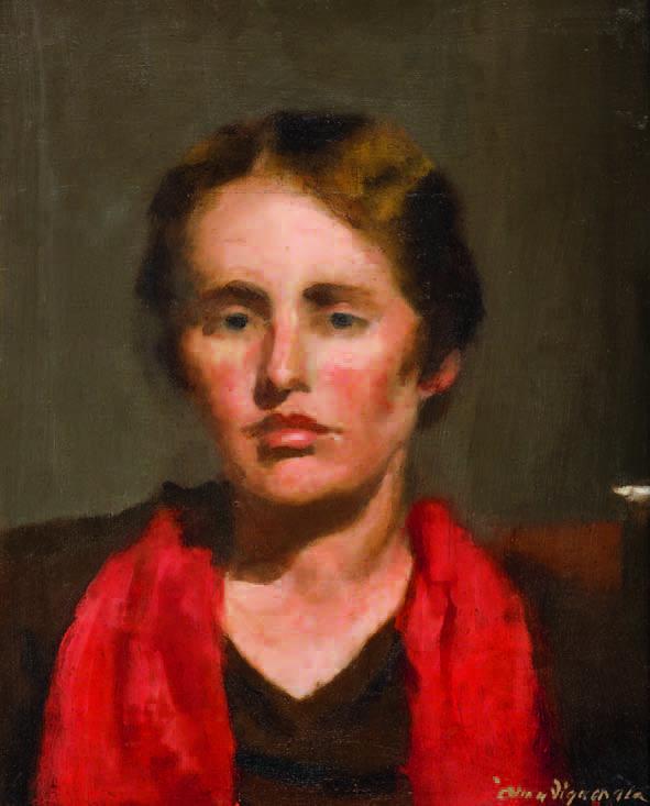Alma Figuerola, Self portrait c. 1930