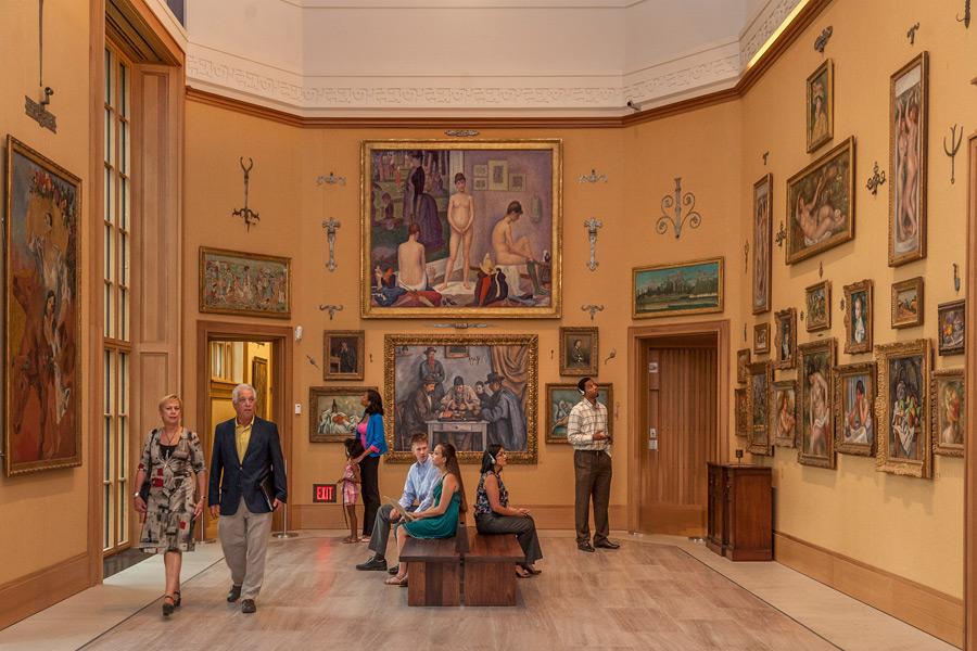 The Barnes Foundation, Philadelphia, photo: R. Kennedy for Visit Philadelphia